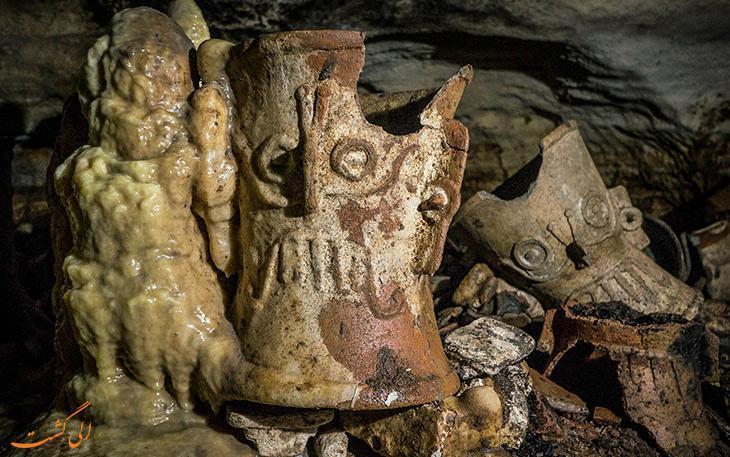کشف غاری از تمدن مایاها که هزار سال کسی وارد آن نشده