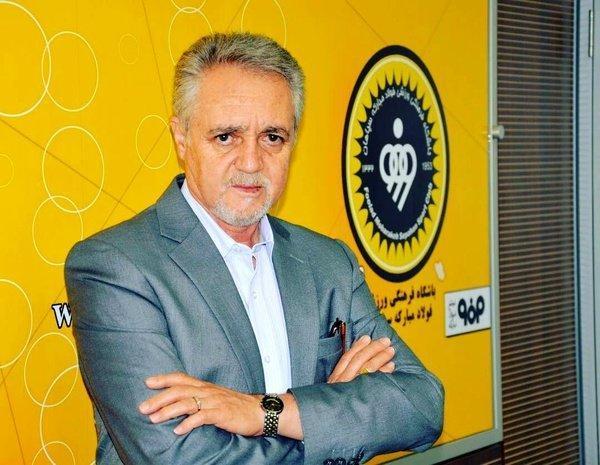تابش: از تبلیغات محیطی راضی نیستیم، امیدوارم با همین روش علی اصغری قهرمان شویم