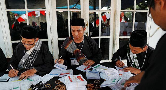 جان باختن 270 نفر در شمارش آرای انتخابات اندونزی