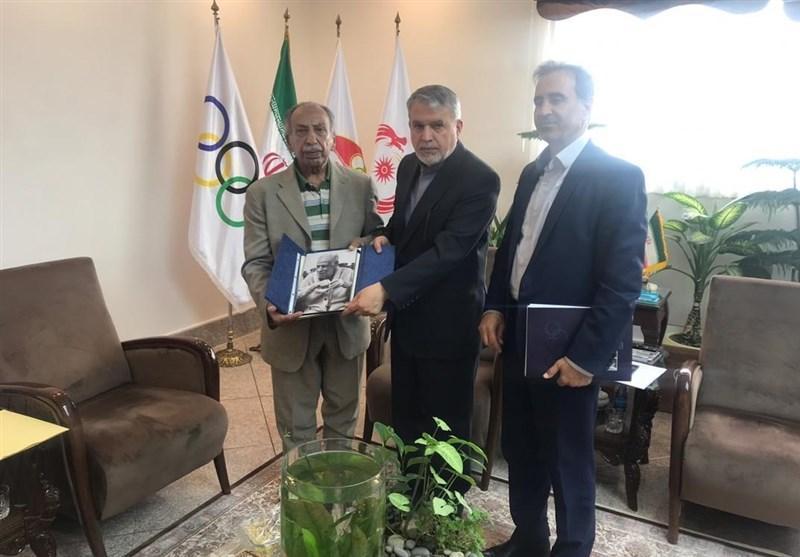 وسایل مرحوم بهمنش تحویل موزه ملی ورزش، المپیک و پارالمپیک شد