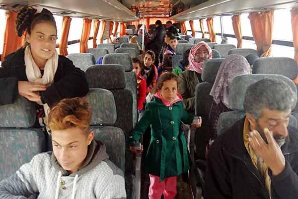 شادمانی آوارگان سوری از بازگشت به کشورشان