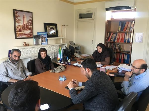 برگزاری نشست هم اندیشی معاون میراث فرهنگی گلستان با انجمن حامیان میراث فرهنگی
