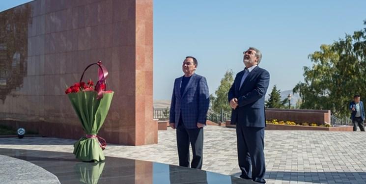 دومین روز سفر رحمانی فضلی به قرقیزستان