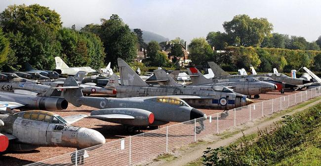 بزرگترین کلکسیون شخصی هواپیماهای جنگی