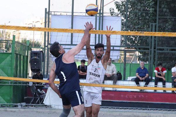 قهرمان مسابقات والیبال ساحلی تهران تعیین شد
