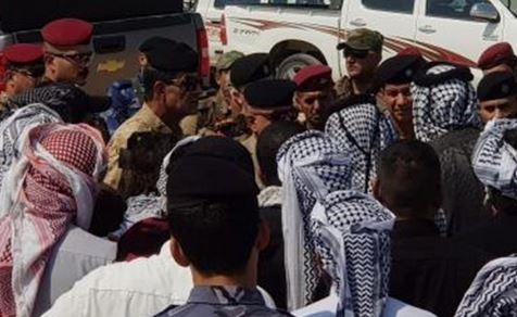 تظاهرات کنندگان عراقی ورودی های بندر ام قصر را بستند