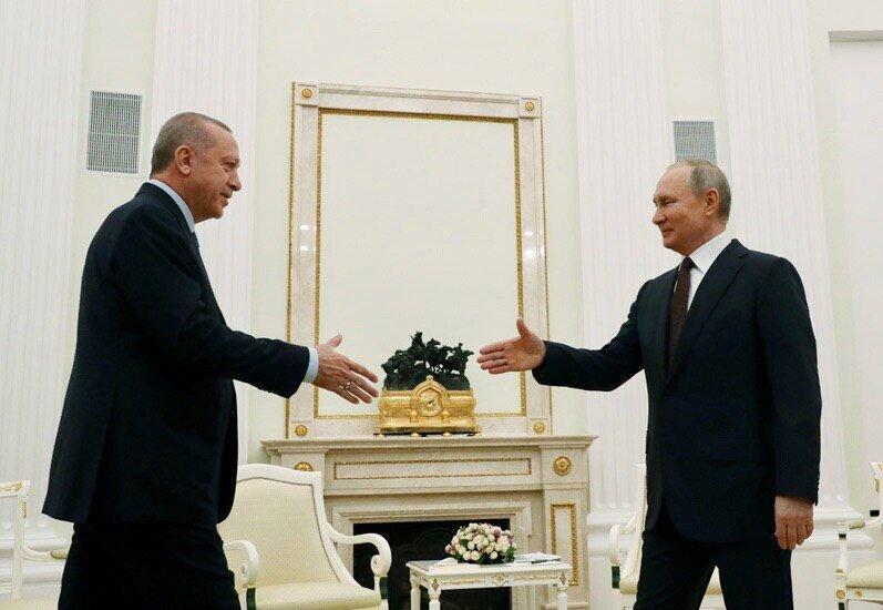 پوتین در کنفرانس خبری با اردوغان مفاد توافق را خاطرنشان کرد