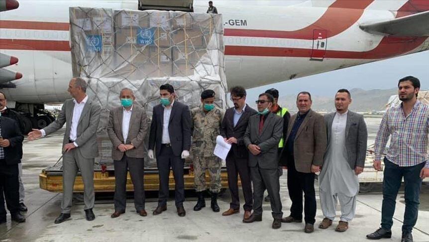 اعطای 5 هزار کیت تشخیص کرونا سازمان بهداشت جهانی به افغانستان