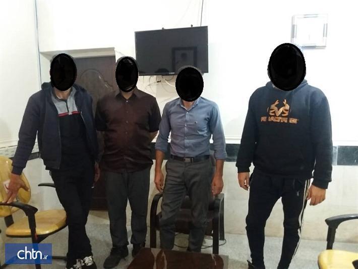 یک باند حفاری غیرمجاز در اندیکا دستگیر شدند