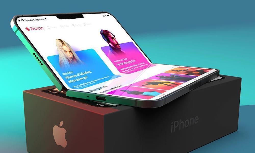صفحه نمایش خودترمیم در آیفون های جدید تاشو