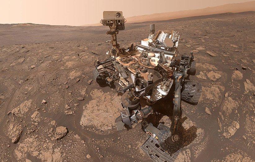 مریخ نورد کنجکاوی در منطقه ماری انینگ سلفی تازه ای از خود منتشر کرد