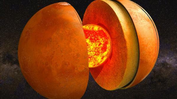 اندازه ی هسته ی مریخ در اتفاقی ناگهانی کشف شد!