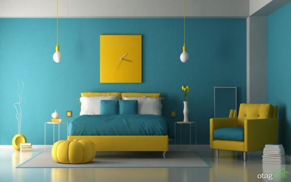 انتخاب ترکیب رنگ نقاشی ساختمان برای دکوراسیون داخلی مجذوب کننده